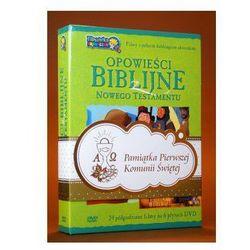 Opowieści Biblijne z Nowego Testamentu (box 6 płyt DVD) zestaw komunijny - sprawdź w wybranym sklepie