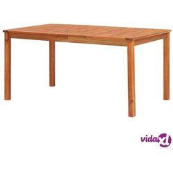 Vidaxl stół ogrodowy, 150x90x74 cm, lite drewno akacjowe (8719883719085)