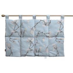 Dekoria Wezgłowie na szelkach, magnolie na błękitnym tle, 90 x 67 cm, Flowers