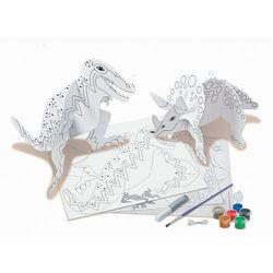 4M, papierowe modele do składania i malowania Świat dinozaurów, kup u jednego z partnerów