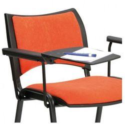 B2b partner Plastikowy stolik z podłokietnikiem do krzeseł konferencyjnych smart, iso, viva, smile