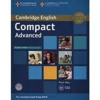 Compact Advanced. Podręcznik bez Klucza + CD, oprawa miękka