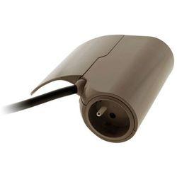 Przedłużacz kanapowy z USB THOMSON, brązowy 150503 (3545411505036)