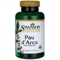 SWANSON Pau d'Arco 500mg - (100 kap)