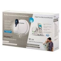 Monitor oddechu  babysense bundle + niania babysense sc-210, marki Hisense