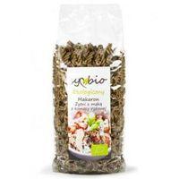 Symbio Makaron żytni z mąką z komosy ryżowej świderek 400g