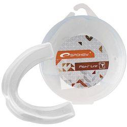 Spokey Ochraniacz szczęki pojedynczy keigo ii biały -  - biały, kategoria: ochraniacze i kaski do sportów