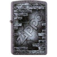 Zapalniczka ZIPPO Bricks Logo Classic Stone (Z26506)