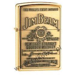 Zapalniczka Zippo Jim Beam Brass 254BJB929