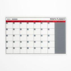 Aj Szklana tablica planu miesięcznego wym. 780x480mm