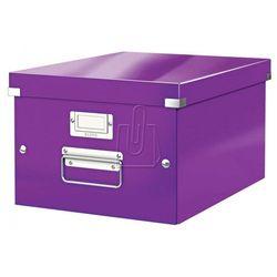 Pudło Click & Store średnie A4 fioletowe 6044
