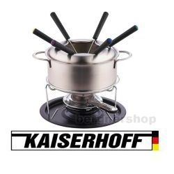 Fondue kh-6168 elegancki zestaw dla 6 osób marki Kaiserhoff