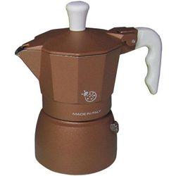 Kawiarka coccinella brązowa - 1 filiżanka marki Top moka