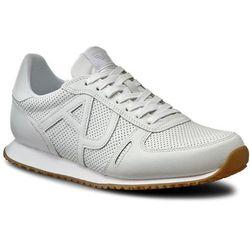 Sneakersy ARMANI JEANS - 935027 7P423 00010 Bianco, kolor biały