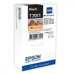Tusz T7011 Czarny XXL do serii WorkForce WP4000/4500 (3.4k) - sprawdź w wybranym sklepie