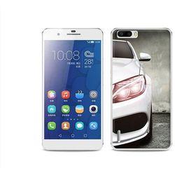 Foto case - huawei honor 6 plus - etui na telefon foto case - biały samochód od producenta Etuo.pl