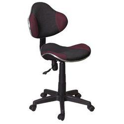 Fotel Q-G2 Fioletowy Czarny