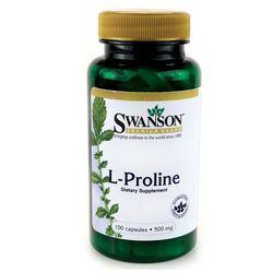 Swanson L-Prolina 500mg 100 kaps.