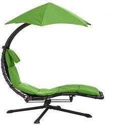 Fotel hamakowy, Zielony DRM360