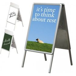 Tablica plakatowa na stojaku A 2x3 A0(841x1189mm)