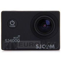 SJCAM SJ4000 WiFi (czarny) - produkt w magazynie - szybka wysyłka!
