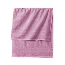Ręczniki z ciężkiego materiału dymny lila marki Bonprix
