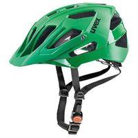 Kask rowerowy Uvex Quatro zielony - produkt z kategorii- Ochraniacze i kaski do sportów walki