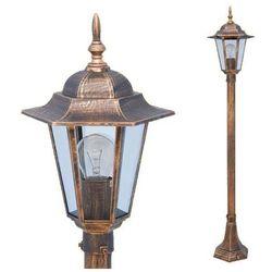 Stojąca LAMPA zewnętrzna STANDARD K-6009B Kaja metalowa OPRAWA ogrodowa IP44 outdoor złoty - oferta [e5c82e7e0761c7f9]