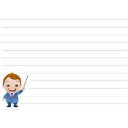 tablica suchościeralna notatnik 025