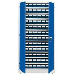 Szafa warsztatowa z pojemnikami, 96 pojemników, 1900x1000x400 mm marki Aj produkty