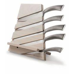 Casa Bugatti - Trattoria blok z 5 nożami Ergo - jasne drewno - jasne drewno