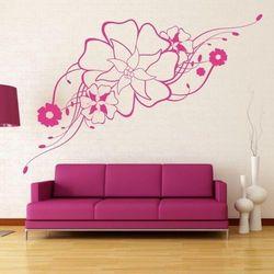 Wally - piękno dekoracji Szablon malarski kwiaty 1201