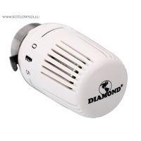 głowica termostatyczna CLASSIC Diamond biała