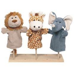 Pacynka na dłoń - dla dzieci - dzikie zwierzątka