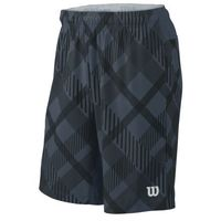 m stretch woven 9 plaid short -bk marki Wilson