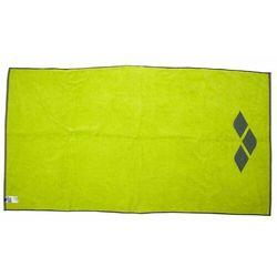 ARENA RĘCZNIK BEACH 2-WAY TOWEL LIME SODA-SHARK 170X90CM (3468336332962)