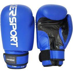 Rękawice bokserskie  a1322 niebieski (10 oz) wyprodukowany przez Axer sport