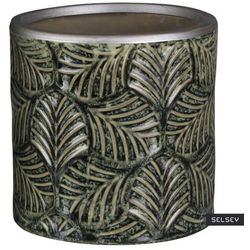 Selsey osłonka na doniczkę steller ceramiczna 12 cm