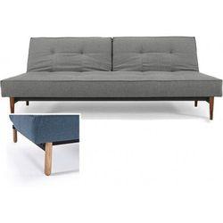 INNOVATION iStyle Sofa Splitback szara 216 nogi jasne drewno Stem - 741010216-741007-11-1-2 z kategorii Sofy