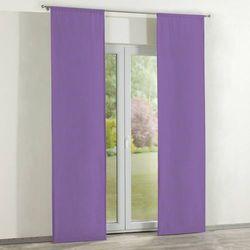 Dekoria zasłony panelowe 2 szt., fioletowy, 60 × 260 cm, loneta