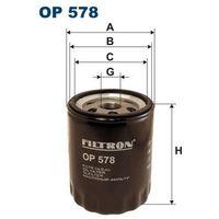 Filtr oleju OP 578 - produkt z kategorii- Filtry oleju