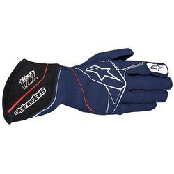 Rękawice Alpinestars Tech 1-ZX - Biało / Czarno / Czerwony \ S, kup u jednego z partnerów