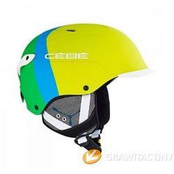 Kask narciarski  contest visor pro lime od producenta Cebe