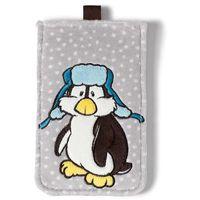Nici, Pingwin Ilja, pluszowa saszetka na telefon z kategorii Saszetki dla dzieci
