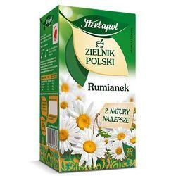 Herbatka ziołowa Zielnik Polski Rumianek EX'20 30 g Herbapol (ziołowa herbata)