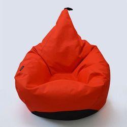 Oskar perek Puf tipi xxl kolor czerwony