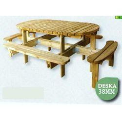 """Drewniany stół ogrodowy """"arka"""" marki Tivolo sp.j"""
