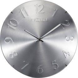 Zegar ścienny Elegant Dome srebrny by NeXtime