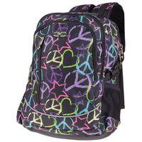 Plecak szkolno sportowy SPOKEY 9135 Czarny, kolor czarny