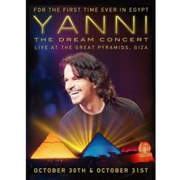 The Dream Concert: Live From The Great Pyramids Of Egypt (CD+DVD) - Yanni